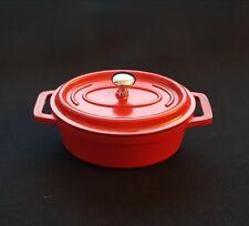 Lacor Mini Bräter 12×8,5 cm | Schmortopf | Gartopf | Auflaufform | Backform