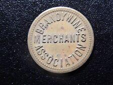 BRANDYWINES MERCHANTS ASSOCIATION PARKING TOKEN!   XX521UXX