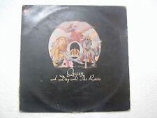QUEEN A DAY AT THE RACES RARE LP record vinyl INDIA INDIAN rare eng lp 0175 vg+