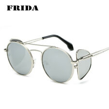 Retro Men Women Sunglasses Oval Oversized Metal Frame Sun Glasses Eyewear UV400