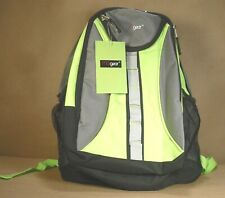 MGgear Backpack Student School Bookbag Children Sports Travel Carry on Green 18""