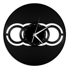 Audi Vinyl Wall Clock Unique Gift for Car Lovers Decoration Bedroom Home Decor