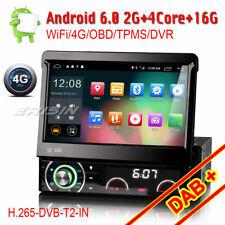 1 Din Staccabile Android 6.0 Car DVD GPS Navi Autoradio WIFI DAB+ DVB-T 4G TPMS