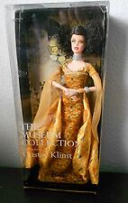 Gustav Klimt Inspired Barbie Doll Museum Collection Pink Label NRFB Yellow Gold