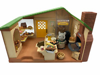 Calico Critters Sylvanian Families Water Mill Bakery Retired Rare Flair Bakery