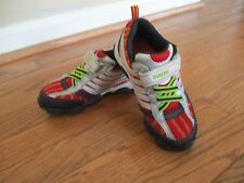 STRIDE RITE Superball Sneakers Silver/Red/Black sz. 12M , GENTLY USED
