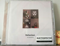 CD Pet Shop Boys Behaviour ELECTROSPECTIVE Stickered Last EMI Original Press Neu