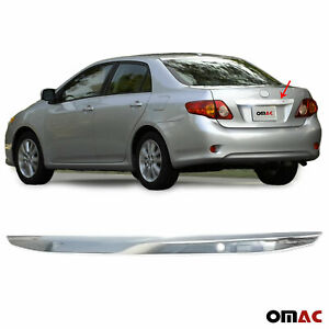 Fits Toyota Corolla 2009-2010 Chrome Trunk Door Grab Handle Trim Cover S.Steel