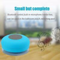 Wireless Waterproof Portable 2.4GHz Bluetooth Mini Shower Speaker Stereo J3F5