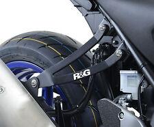 Suzuki SV650 2017 L7 R&G Racing Exhaust Hanger & Footrest Blank Plate EH0071BKA