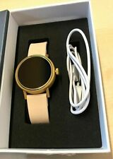 Misfit Vapor 2 Smart Watch Rose Gold - Pink Silicone Band - Boxed - Smartwatch
