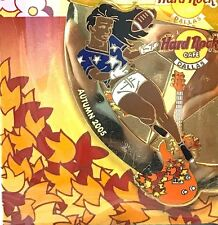 Hard Rock Cafe Dallas Season Sports Puzzle Pin Autumn Football Girl 2005 New LE