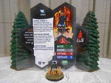 Heroscape Custom Ursa Double Sided Card & Figure w/ Sleeve DC