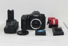 Canon EOS 7D 18MP Digital SLR Camera Black DS126251 Body Only With battery grip