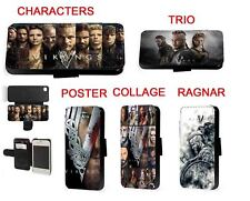 Vikings tv Ragnar Lagertha leather phone case for Huawei Samsung S10