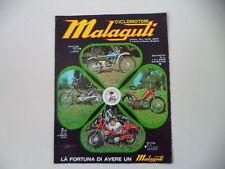 advertising Pubblicità 1974 MALAGUTI CAVALCONE CROSS 50/MOTORIK/FIFTY/QUATTROTTO