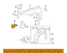 Chevrolet GM OEM 06-11 HHR Fender-Front Bracket Right 15880803