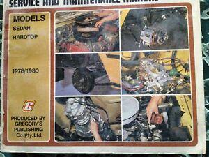 DATSUN/NISSAN SKYLINE 1978-1980 GREGORYS SERVICE REPAIR MANUAL WORKSHOP