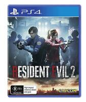 Resident Evil 2 For PS4 Playstation 4 Pro Video Game Survival Horror Capcom Game