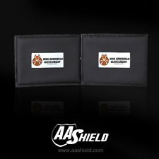 "AA Shield Body Armor Blunt Force Trauma Pad Soft NON-BALLISTIC Plate 6""x8"" Pair"