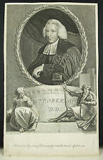 Rev William Robertson historiador Thomas HOLLOWAY ap Joshua REYNOLDS c 1780