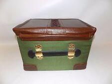 JJ Scholl Elegant Scooter Travel Case Luggage Storage Box Universal Vtg Look New