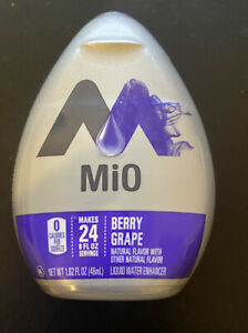 10 pack  MiO Water Enhancer Berry Grape Flavor 0 Calories - 1.62 Oz