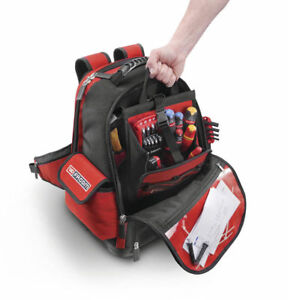 LAST FEW! FACOM FRANCE BACKPACK TOOL ORGANISER WITH LAPTOP SPACE TOOLBAG