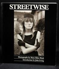 Signed Mary Ellen Mark Seattle Street Kids 1st Ed 1988 Streetwise Photographs