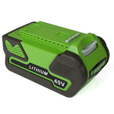 New 40V 4.0Ah Replacement Lithium Battery ONLY for GreenWorks 29692 Gen1 Tools