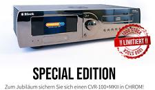 Audio Block CVR 100+ MKII Limitierte Edition in Chrom *** Multiroom Receiver ***