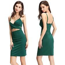 Polyester Clubwear Wrap Dresses