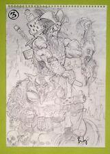 cover SIMON BISLEY ORIGINAL ART Comic Art