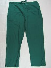 Women's Scrub Pants Beverly Hills Uniform Size 2XL Tie & Elastic Waist 6 Pockets