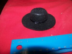 1:6th Scale Scale Cowboy Hat Moded Rubber