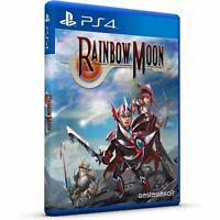 RAINBOW MOON SONY PS4 ASIA FULL ENGLISH REGION FREE NEW SEALED PLAYSTATION 4