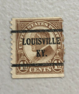 1925 Warren Harding Used 1 1/2 Cent Stamp Yellow Brown US #553