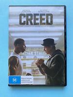 Creed Starring Michael B. Jordan 🎬 DVD Region 4 PAL 🎬