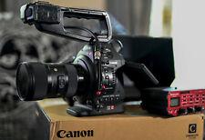 Canon C100( EF)around 300 hours + DF update +SIGMA ART 18-35+FOTGA FILD MONITOR