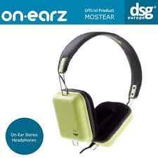 GENUINE ON-EARZ STROMAE MOSTEAR HEADPHONES GREEN
