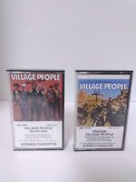 2 Village People Cassette Tapes - Macho Man & Cruisin' - Fast Ship