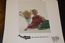 Minnowknits Knitting Pattern 161 Swing Set Top & Diaper Cover 3m to 2yrs