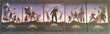 Marvel Avengers Infinity War A4 ODEON Posters - ORIGINAL NOT REPRINTS ALL 5 RARE