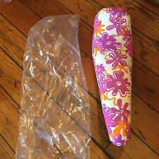 Girls Vintage NOS Troxel Groovy Floral Banana Bike Seat-80's-Fits Huffy & Others
