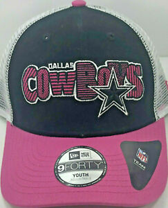 Dallas Cowboys / Youth Mesh / New Era 9Fourty / Pink/Black / Reg $18 - 50% OFF