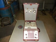 Vintage Webster Chicago Model 80-1 Wire Tape Recorder SERIAL#20803 W MICROPHONE