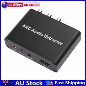 HDMI-compatible ARC Audio Extractor Converter Adapter for Optical Fiber Coa AU