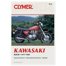CLYMER REPAIR MANUAL KAWASAKI KZ650B, KZ650C, KZ650D SR & KZ650E LTD 1977-1983