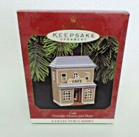 Hallmark Keepsake Ornament Nostalgic Houses Shops Cafe 14th 1997
