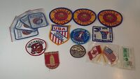 Lot Of 14 Vintage Patches Rare Collector